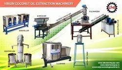 MASSAGE VIRGIN COCONUT OIL EXTRACTION MACHINE