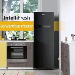 3 Star Black Whirlpool Refrigerator, Model Name/ Number: Intellifresh, Capacity: 292