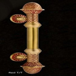 Royal Red T/T Brass Full Handles