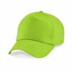 Plain Light Green Cap