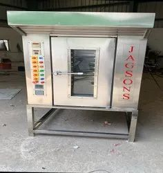12 tray electric rotary oven