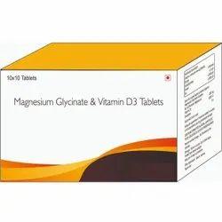 Magnesium Glycinate & Vitamin D3 Tablets
