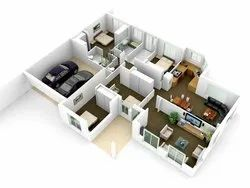 3D Floor Plan Service, In India, Bhopal