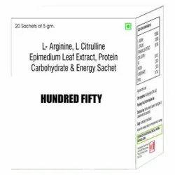 L-Arginine L Citrulline Epimedium Leaf Extract Protein Carbohydrate & Energy Sachet