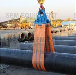 Lowering Belts For Pipeline
