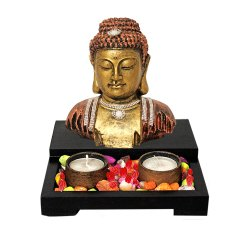 Buddha Tealight Candle Holder
