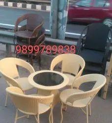 Garden Wicker Chairs &Table
