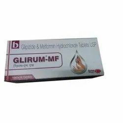 格列吡嗪盐酸二甲双胍片