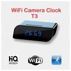 T3 WiFi Table Clock Spy Camera