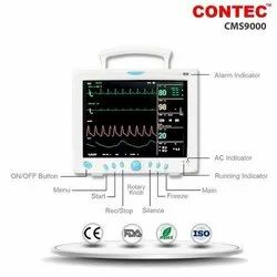 Brand: Contec CMS-9000 Multi Parameter Patient Monitor, Display Size: 12, TFT