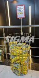 Supermarket Broom Stand