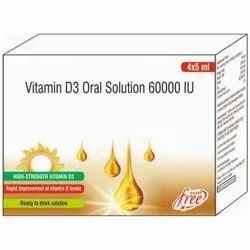 Vitamin D3 Oral Solution 60000 IU Shots