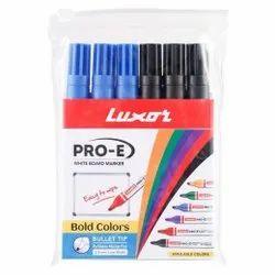 Pack Of 6's PCS Luxor Whiteboard Marker
