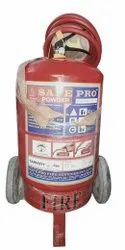 Safepro 25kg ABC Type Wheeled Fire Extinguisher, For Industrial Use