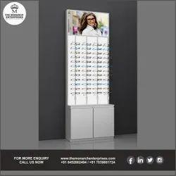 Sunglass Display Wall Unit
