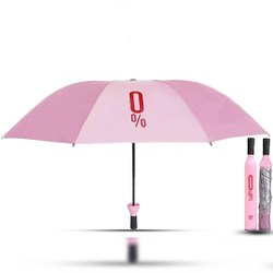 Portable Wine Bottle Umbrella with Bottle Cover
