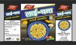 Amrit Foods Lai Chana Namkeen, Packaging Size: 20gm