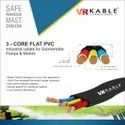 Submersible 3 Core Flate Cables 12.00sqmm