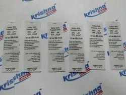 Custom Printed Fabric Labels