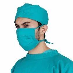 SafeWear Cotton Surgeon Cap And Mask