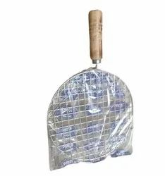 Round Stainless Steel Papad Roaster, For Kitchen, Size: 10 Inch