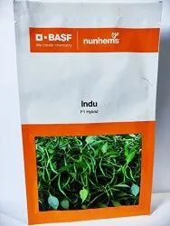 Green HYBRID CHILLI INDU / NUNHEMS, Packaging Type: Pouch, Packaging Size: 1500 Seeds