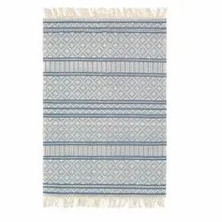 Cotton Rectangular Textured Rug, For Home, Size: 60x90 Cm