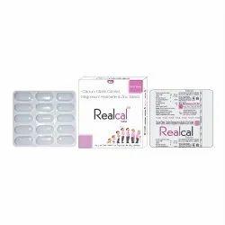 Calcium Citrate 1000mg, Calcitrol 0.25mcg, Magnesium 100mg, Zinc 7.5mg Tablets