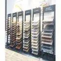 Metal Display Stand  For Tiles / Wood