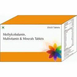 Methylcobalamin, Multivitamin & Minerals Tablets