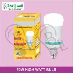 50W High Watt Bulb (Driver Based With Rocket Body)