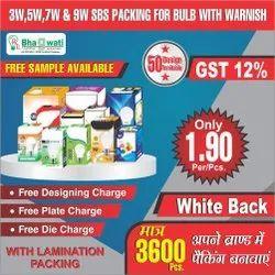 3W-9W LED Bulb Packaging Box