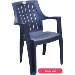 Sunrise Plastic Blue Chair