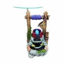 Glass Top Indoor Decorative Water Fountain