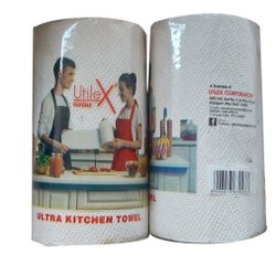 Plain White Non Woven Towel Roll, For Kitchen, Rectangle