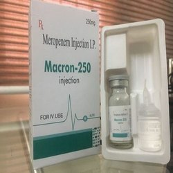 Macron Meropenem 250mg Injections
