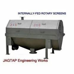 Paper Pulp Rotary Drum Screen Filter For Wastewater Treatment
