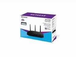 Wireless or Wi-Fi nil Netgear R6350 AC1750 Smart WiFi Router (Black), For Home And Small Office