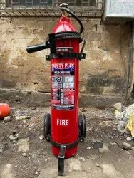 SAFETY PLUS 22 Kg Co2 Fire Extinguisher Wheel Trolly