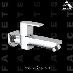 AZARO Silver Aria Long Body Tap, For Bathroom Fitting