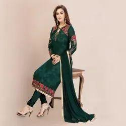Wedding Wear Exclusive Georgette Embroidery Salwar Suit (G43)