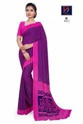 Silk Uniform Saree