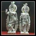 Marble Radha Krishna Moorti  Statue
