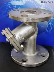 SS Y-STRAINER (Flanged End)