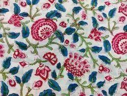 Meera Handicrafts Hand Block Printed Cotton Fabric