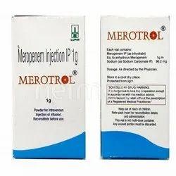 Merotrol Meropenem Injection 1g