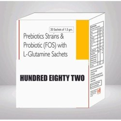 Prebiotics Strains & Probiotic (FOS) With L Glutamine Sachet