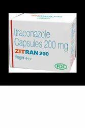 Zitran Itraconazole Capsules 200 mg, FDC, Prescription
