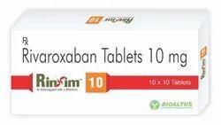 Rivaroxaban Tablets 5/10/15/20 Mg