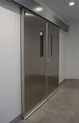 Gray Swing Acoustic Doors, For Hospital,CT and X ray